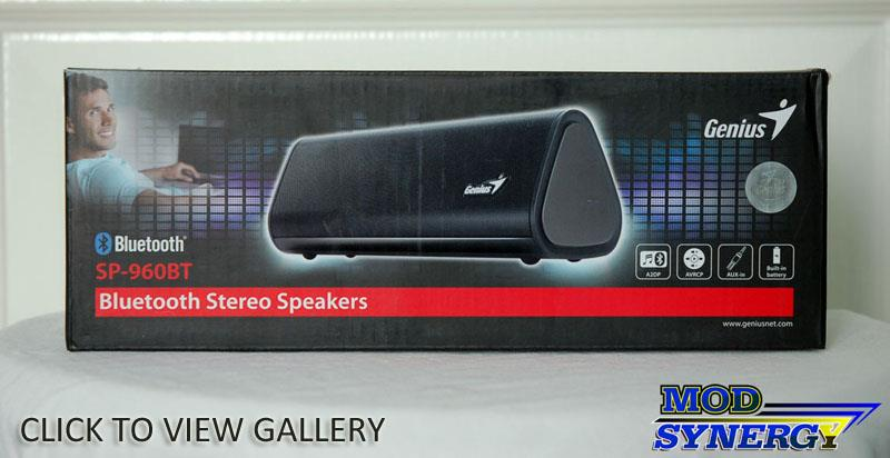 Genius SP-960BT Portable Bluetooth Speaker
